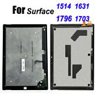 New For Microsoft Surface Pro 2 3 4 5 6 1631 1796 1703 LCD Touch Screen Assembly