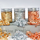 Gold Foil Flakes for Nails Painting Craft Resin Jewelry Making DIY Accessories A