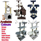 Cat Tree Climbing Scratching Post Activity Centre Sisal Scratcher Tower Bed 88