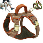 No Pull Reflective Pet Harness w/ Handle Heavy Duty for Small Medium Large Dogs