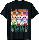 Quarantined Easter 2021 T-Shirt, Easter T-Shirt, Graphic Printed Unisex T-Shirt