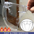 Clear Face Shield Face Mask Reusable Washable Anti Fog Glasses Prevention NEW