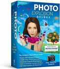 PHOTO EXPLOSION Deluxe Windows 7 8 10 Digital Photo Editing PC Software