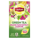 Lipton Green Tea Bags Flavored Natural Flavors (Assorted Flavors)