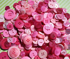 Pink Hand Dyed Buttons in Color Mixes & Fairytale,Baby Girl Theme Button