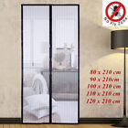 Home Magnetic Curtain Door Net Screen Insect Bug Mosquito Fly Mesh Guard 210 Cm