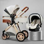 Premium Luxury baby stroller 3 in 1, High Landscape stroller Car seat Gondole <br/> Comes in few colors come check what is the best for you