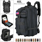 40L Sport Outdoor Military Rucksack Tactical Molle Backpack Camping Hiking Trave