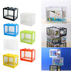 Mini Aquarium Clear Tank Box for Betta Goldfish Insect Office Desktop Decor