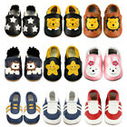 Dotty Fish Soft Sole Leather Baby Shoes Toddler Infant Girls/Boys Walking Boots