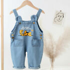 Toddler Baby Boys Clothes Cartoon Overalls Infant Denim Fashion Romper Jumpsuit