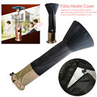 Home Garden Anti Dust With Zipper Round Portable Patio Heater Cover Waterproof