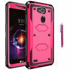 For LG Fiesta LTE/ X Charge/X Power 2 Rugged Armor Phone Case Shockproof Cover