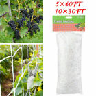 15/30/60ft Plant Trellis Netting Heavy-Duty Polyester Plant Support Vine US