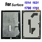 For Microsoft Surface Pro 2 3 4 5 6 1631 1796 1703 LCD Touch Screen Replacement