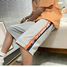 New Fashion Men Korean Style Cotton Loose Mid-Rise Casual Sport Straight Shorts