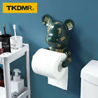 Creative light luxury violent bear wall hanging free perforated tissue holder