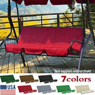 Replacement Swing Seat Canopy Cover Set Garden Chair Hammock Cushion 3 Seater Us