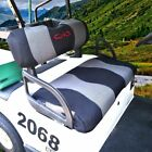 Golf Cart Seat Covers Set Fit For Ezgo Txt Rxv Club Car Ds Breathable Mesh Cloth