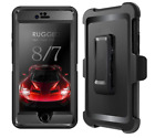 For iPhone 8 Plus/iPhone 7 Plus Shockproof Protective Hybrid Rugged Hard PC Case