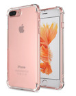 iPhone 7 8 Plus Clear Case Shockproof Cover Protective Transparent Bumper TPU HD
