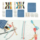 Handy Weaving Cards Tablet Paper Loom Cards Kit Smooth Surface for Loom DIY