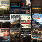 Hearts Of Iron Iv 4 All Expansion Packs Dlc In Variations Global Pc Key (steam)