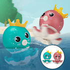 Baby Bathing Tub Rotating Whirling Octopus Shower Faucet Spray Water Toys