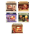 Dollhouse Miniature with Furniture Light Ornament Shop Adult Lover Gift