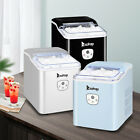 Zokop Portable Ice Maker Machine Countertop 26Lbs/24H 9 Ice Cubes Ready in 8 Min