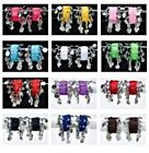 Women Solid Multi-Colored Belly Cuff Coin Wrist Arm Ankle Bracelet Dance Costume