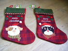 Fab Dog or Cat design luxury felt Christmas Stocking