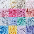 SOFT MINKY MINKEE FLEECE CHENILLE 5MM PLUSH BABY BLANKET FABRIC SOLID 65 VARIES