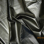 SHINY FETISH VINYL PLEATHER FABRIC PEARL EFFECTS BLACK