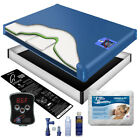 85% Waveless Waterbed Mattress Premium Bundle-All Sizes