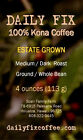 Pure 100% Kona Coffee - 4-oz from Award-Winning Estate