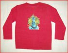 SHREK Sz 5 LONG SLEEVE BOYS TOP Awesome Jumper - Choose Red Green or Blue NEW