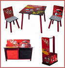 NEW Kidz Racing Cars Table Chair Bench Dresser Storage
