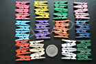 MINI CLOTHES PEGS  x 25 Ideal for Crafting