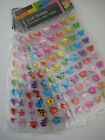 Craft Stickers/embellishment Hearts, Stars, Butterflies