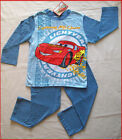 DISNEY CARS McQueen Winter PJs PYJAMAS sz 3 4 6 8 New