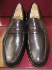 MENS GRENSON BURGUNDY LEATHER SLIP ON SHOES 'CLAPHAM'