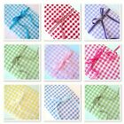 'KENT' YARN DYED GINGHAM COTTON FABRIC per metre EXTRA WIDE 145cm