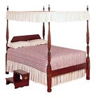"""Twin Size Flat Canopy top - EYELET 44"""" w x 80"""" l image"""