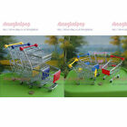 Shopping Cart Desk Organizer Stationary Holder Toy Mini