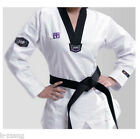 Mooto Korea WTF TaeKwonDo 3FW WOMAN uniforms TKD Dobok Black neck Tae Kwon Do