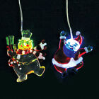 10cm Colour Changing LED Christmas Novelty Santa/Snowman  Light (BC35)