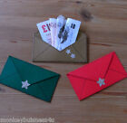 Gift Die Cuts - Envelope - Topper - Party - Voucher - Money Gifts - Christmas