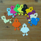 Easter Die Cuts - Chick/Bird -  Kids - Topper - Party - Tags - Scrapbook
