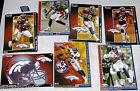 NFL Denver Broncos AFC West FATHEAD Tradeables ~ collectible cards wall decal